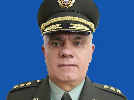 General José Ángel Mendoza.