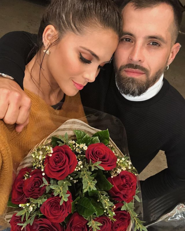 Greeicy y Mike Bahía.