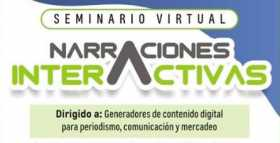 A explorar nuevas formas de narrar con el seminario virtual Narraciones interactivas