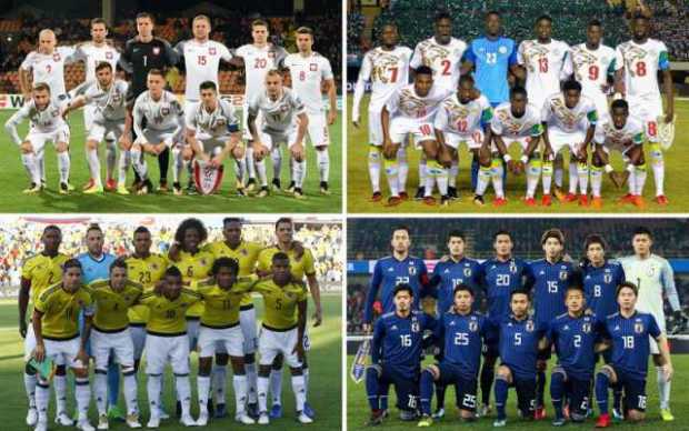 Grupo H Colombia