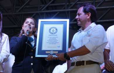 Chinchiná (Caldas) ganó por partida doble el Guinness Record